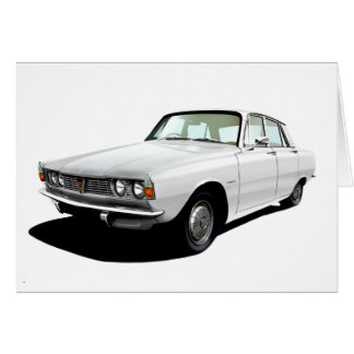 Rover 2000 greeting card