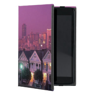 Row houses at sunset in San Francisco, Case For iPad Mini