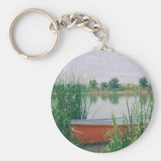 Rowboat Key Ring