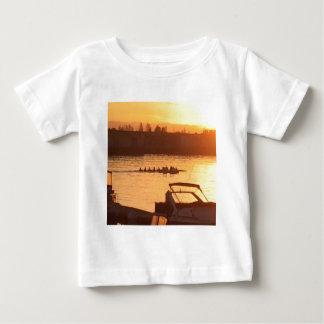 Rowing at Sunset Baby T-Shirt