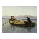 Rowing-Boat, 1863 Post Card