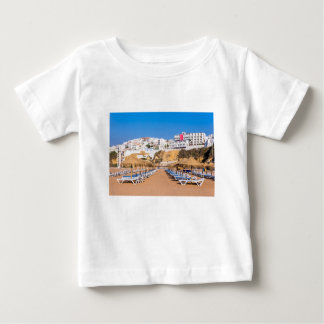Rows of beach parasols with buildings.JPG Baby T-Shirt