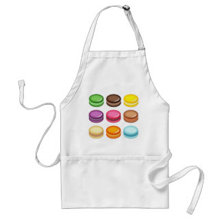 Rows of Macarons Standard Apron