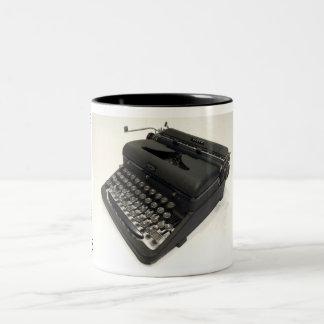 Royal Arrow typewriter Two-Tone Mug