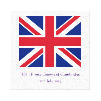 Royal Baby Canvas Gallery Wrapped Canvas