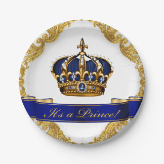 Royal Baby Shower Plates | Zazzle.co.nz