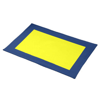 Royal Blue and Yellow Placemat