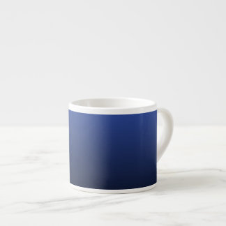 Royal Blue Black Ombre Espresso Cup