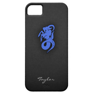 Royal Blue Capricorn Barely There iPhone 5 Case