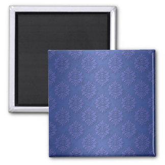 Royal Blue Double Damask Magnet