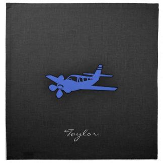 Royal Blue Small Plane Napkin