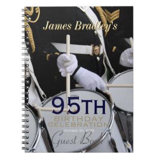 Royal British Band 95th Birthday Celebration Note Books