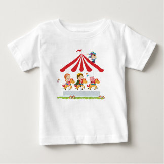 Royal Carousel from Fairy Tale Kingdom Baby T-Shirt