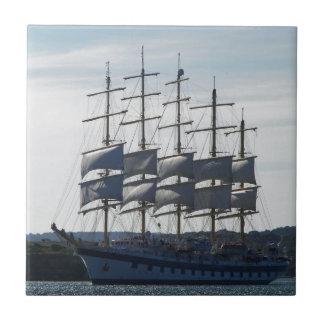 Royal Clipper Under Sail Tile