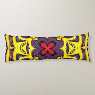 Royal Colorful Kaleidoscope Pattern Body Pillow