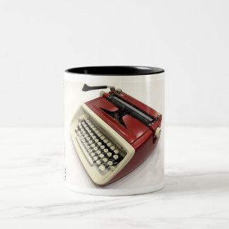 Royal Custom (Safari) typewriter Two-Tone Mug
