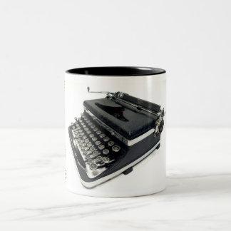 Royal De Luxe typewriter - 1936 Two-Tone Coffee Mug