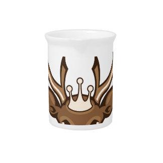 Royal Deer Pitcher