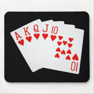 Royal Flush Mousepad