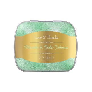 Royal Gold MInt Lace Jelly Belly™ Candy Tin Gift