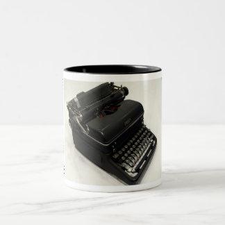 Royal KMM typewriter Two-Tone Mug