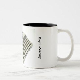 Royal Mercury typewriter Two-Tone Coffee Mug