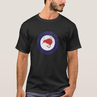 Royal New Zealand Rustic Air Force Roundel T-Shirt