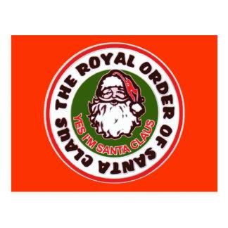 Royal Order of Santa Claus Postcard