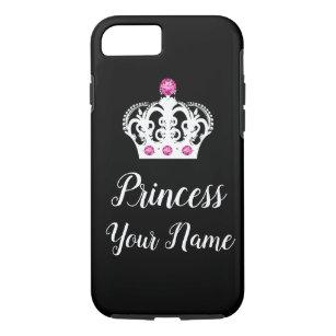 Royal Princess Monogram Crown Design Case-Mate iPhone Case