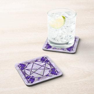 Royal Purple Unicursal Coaster