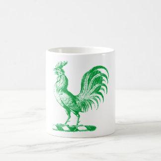 Royal Rooster Teal Mug