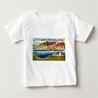 Royal Route of Scotland Summer Tours Vintage Baby T-Shirt