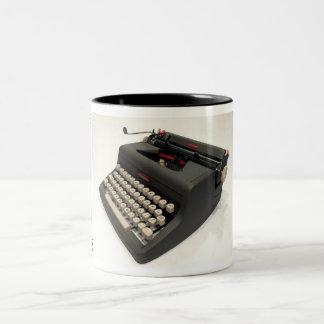 Royal Speed King typewriter Two-Tone Mug