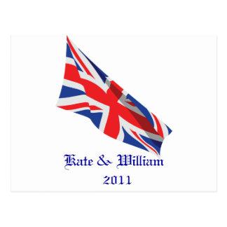 Royal Wedding /Kate and William Postcard