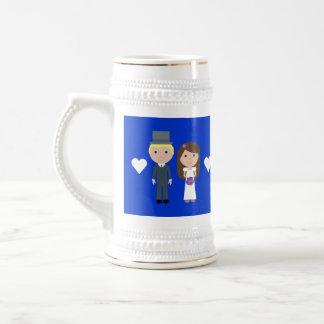 Royal Wedding Wills & Kate Cute Cartoon Coffee Mug