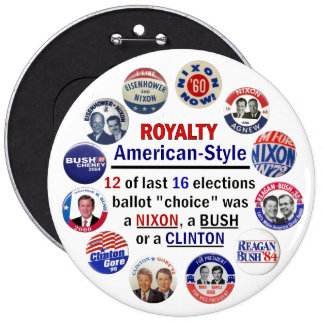 Royalty, American-Style 6 Cm Round Badge