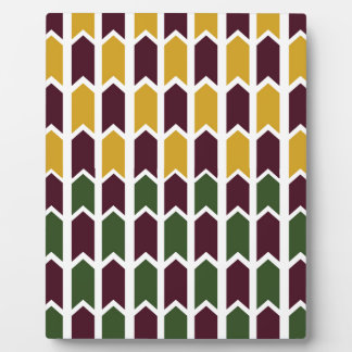 Royalty Checkered Panel Fence Plaque