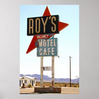 Roy's Motel Cafe Poster