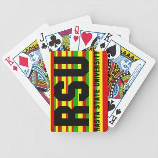 RSU: Rasta State University Bicycle Playing Cards