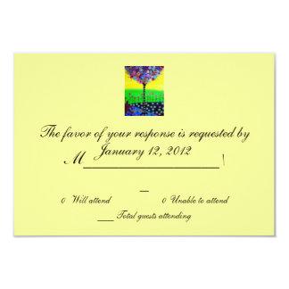 RSVP Bar Bat Mitzvah Card