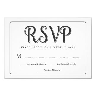RSVP Chalkboard Wedding Response Cards 9 Cm X 13 Cm Invitation Card