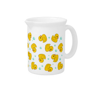 Rubber Duck Pattern Pitcher
