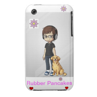 Rubber Pancakes IPhone 3g Case (female) Case-Mate iPhone 3 Cases