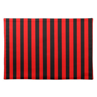 Ruby Black Placemat