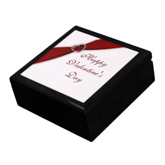 Ruby Pink Valentine's Day Gift Box