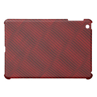 Ruby Red and Black Pern Cover For The iPad Mini