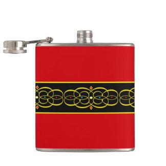 """Ruby Renaissance"" Flask"