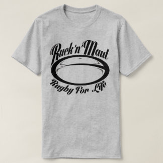 Ruck N Maul Rugby For Life Sport Banter T-Shirt