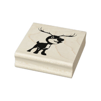 Rudolph Rubber Stamp