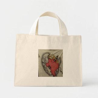 ruff love mini tote bag